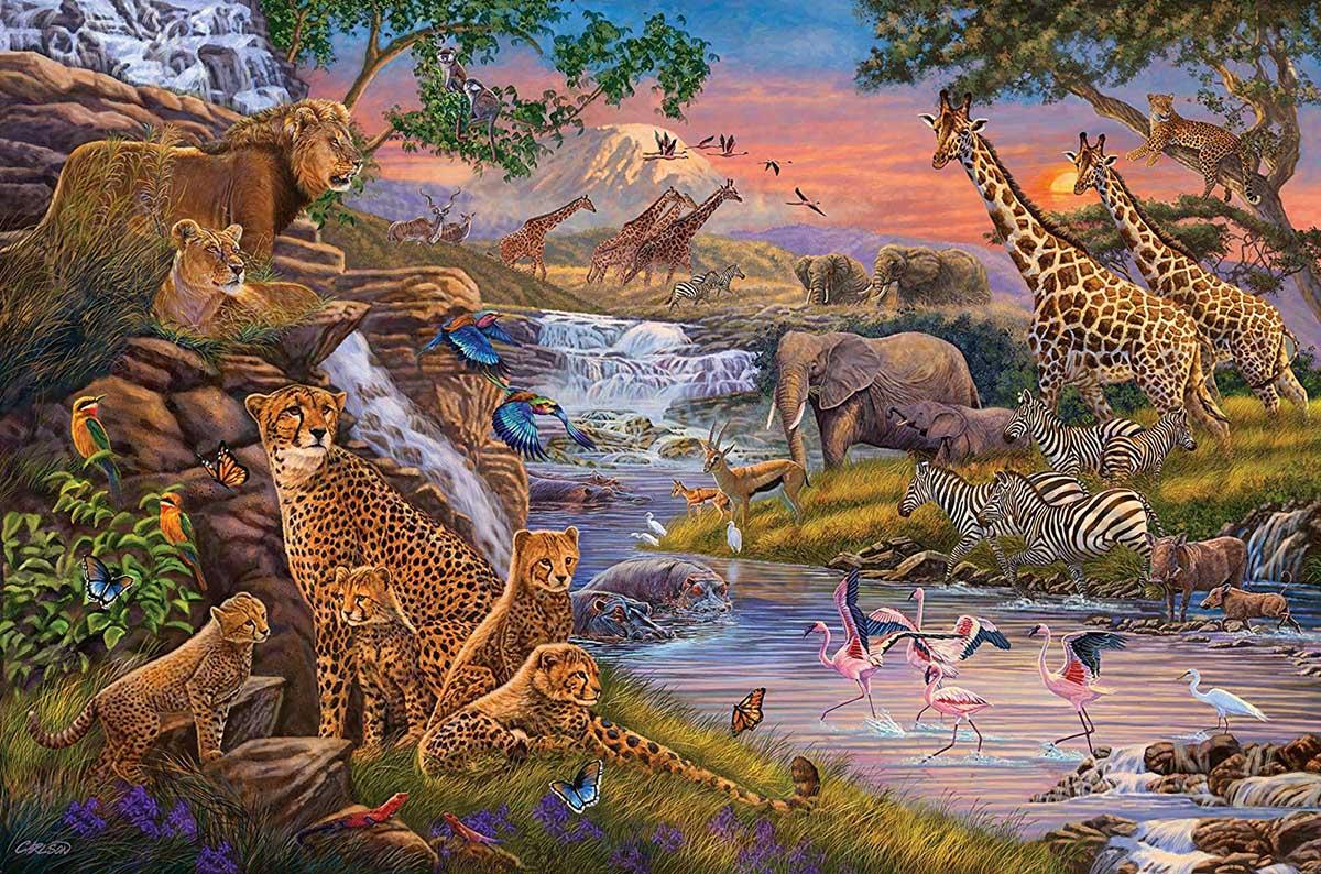 Animal Kingdom Animals Jigsaw Puzzle