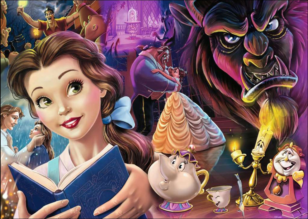 Belle - Heroines Collection Disney Jigsaw Puzzle
