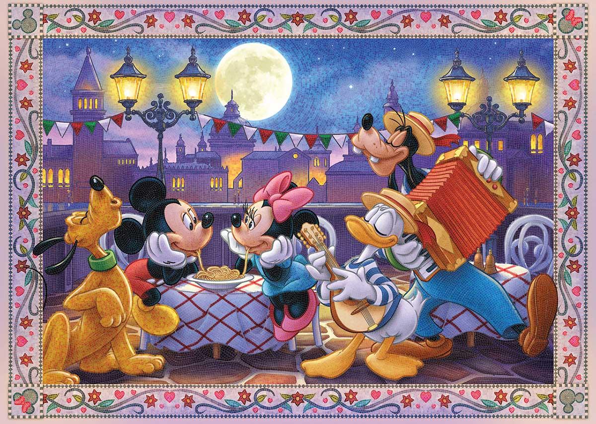 Mosaic Mickey Disney Jigsaw Puzzle
