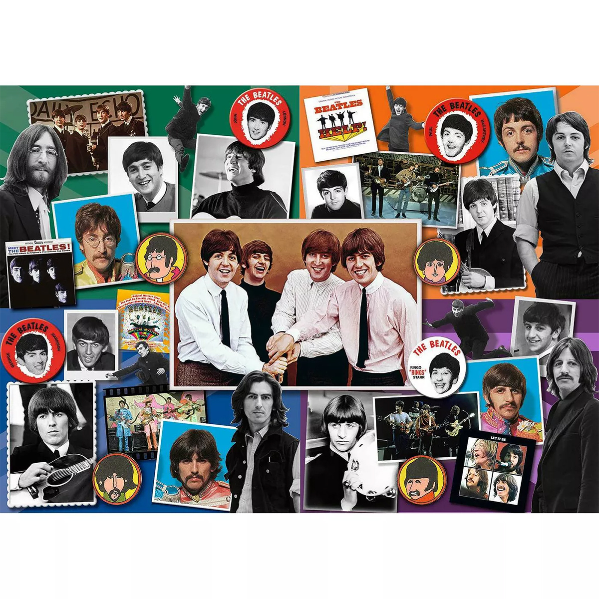 Anthology Anniversary Famous People Jigsaw Puzzle