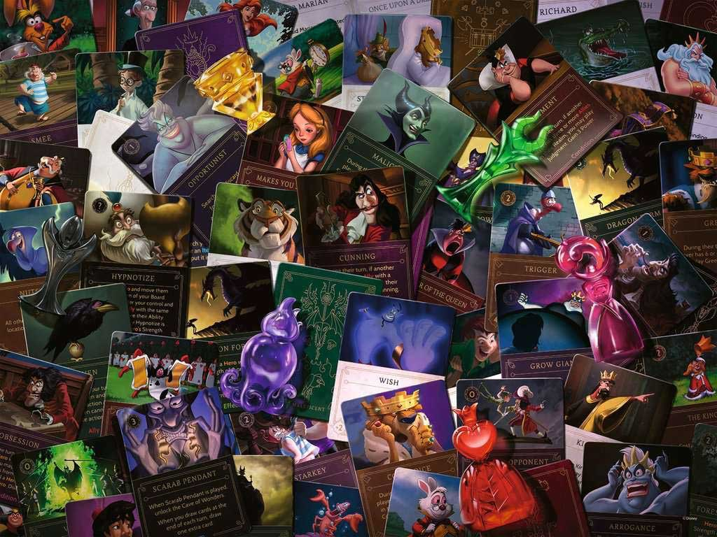 All Villains Disney Jigsaw Puzzle