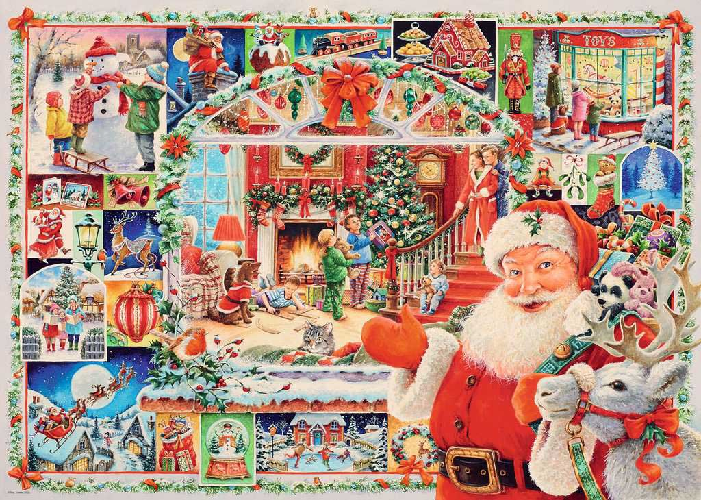 Christmas is Coming! Santa Jigsaw Puzzle