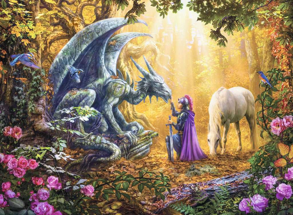Dragon Whisperer Fantasy Jigsaw Puzzle
