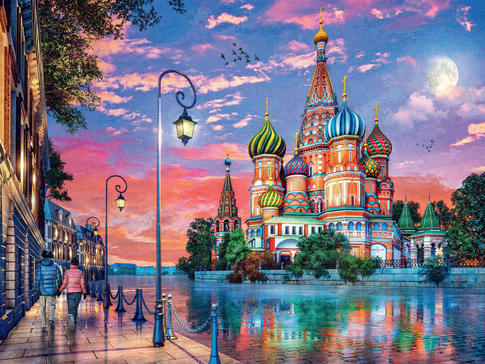 Moscow Travel Jigsaw Puzzle