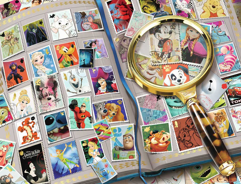 My Favorite Stamps Disney Jigsaw Puzzle
