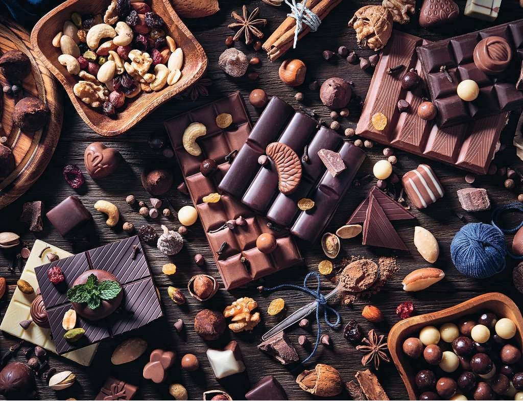 Chocolate Paradise Food and Drink Jigsaw Puzzle