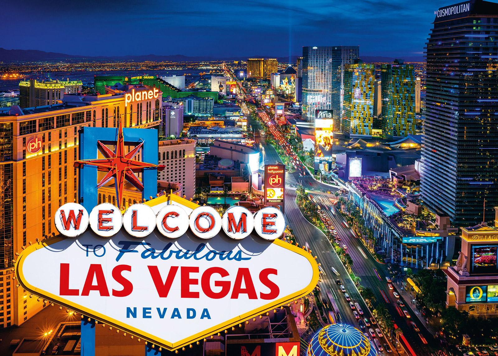 Las Vegas Travel Jigsaw Puzzle