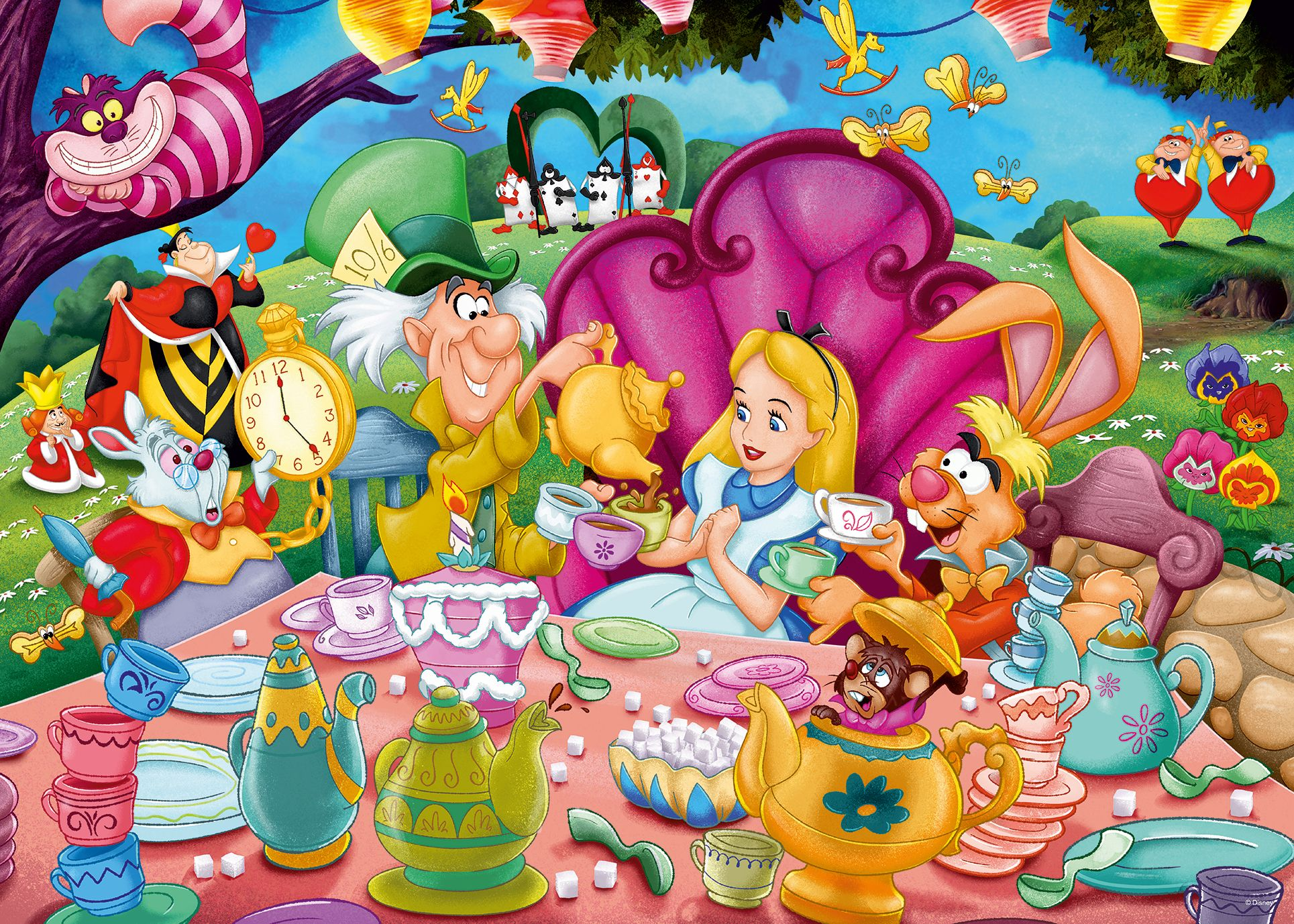 Alice in Wonderland Disney Jigsaw Puzzle