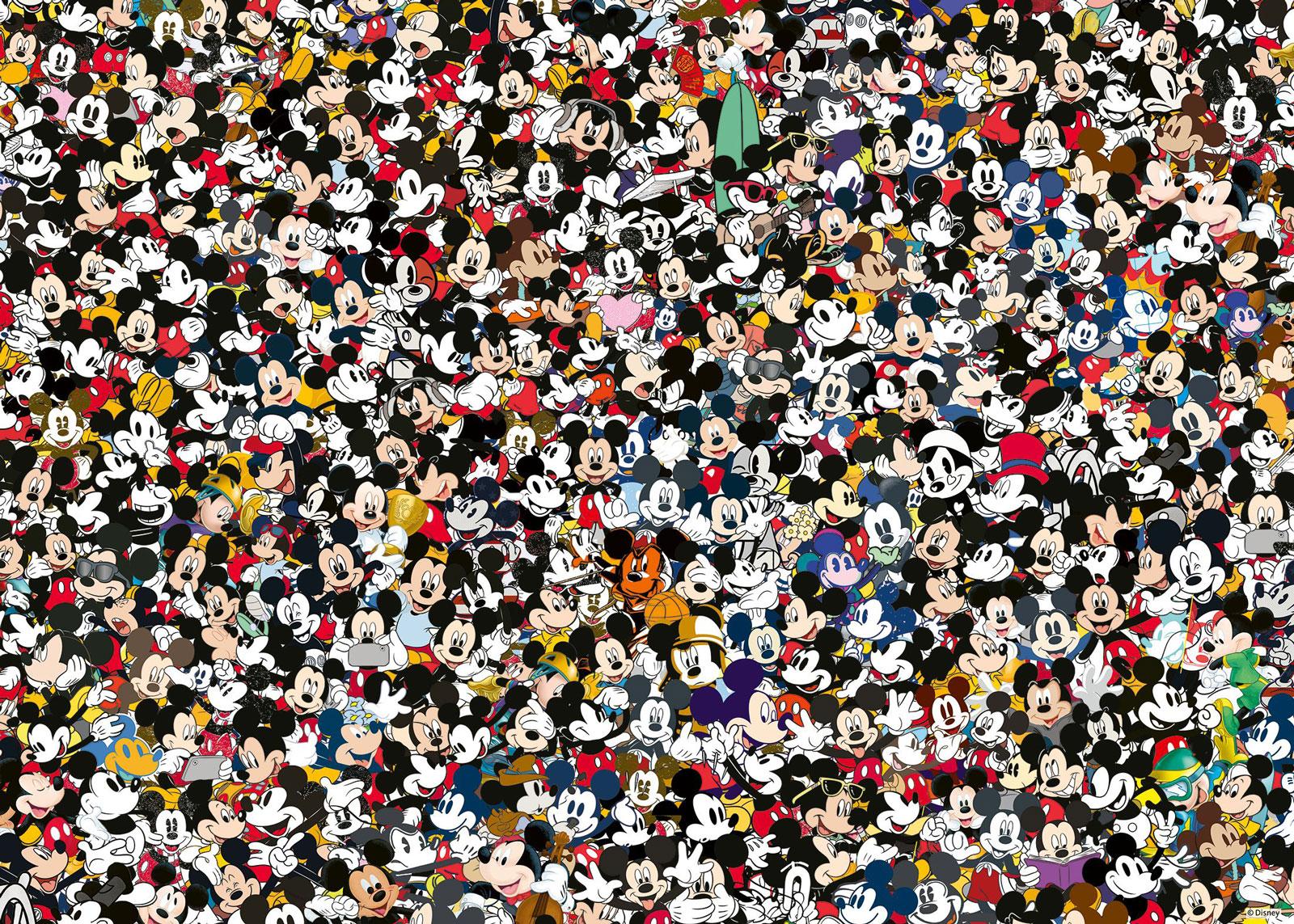 Mickey Challenge Disney Jigsaw Puzzle