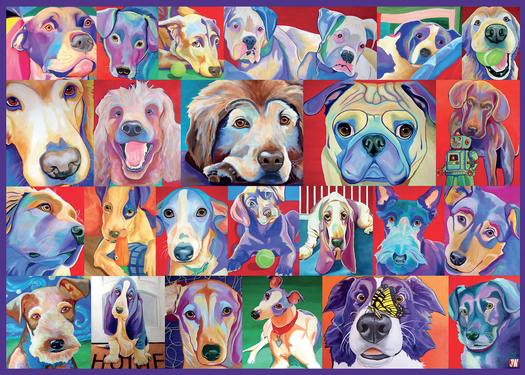 Hello Doggie Animals Jigsaw Puzzle