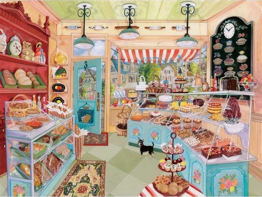 Corner Bakery Sweets Jigsaw Puzzle