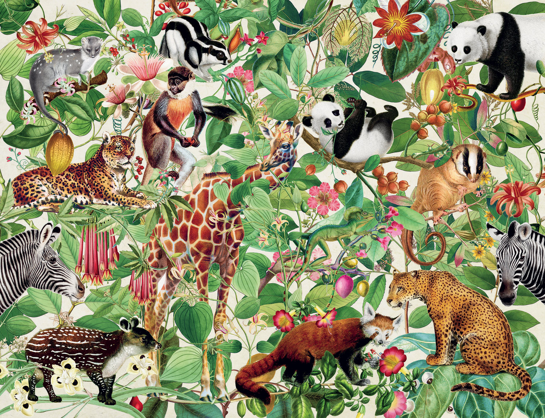 Jungle Wildlife Jigsaw Puzzle