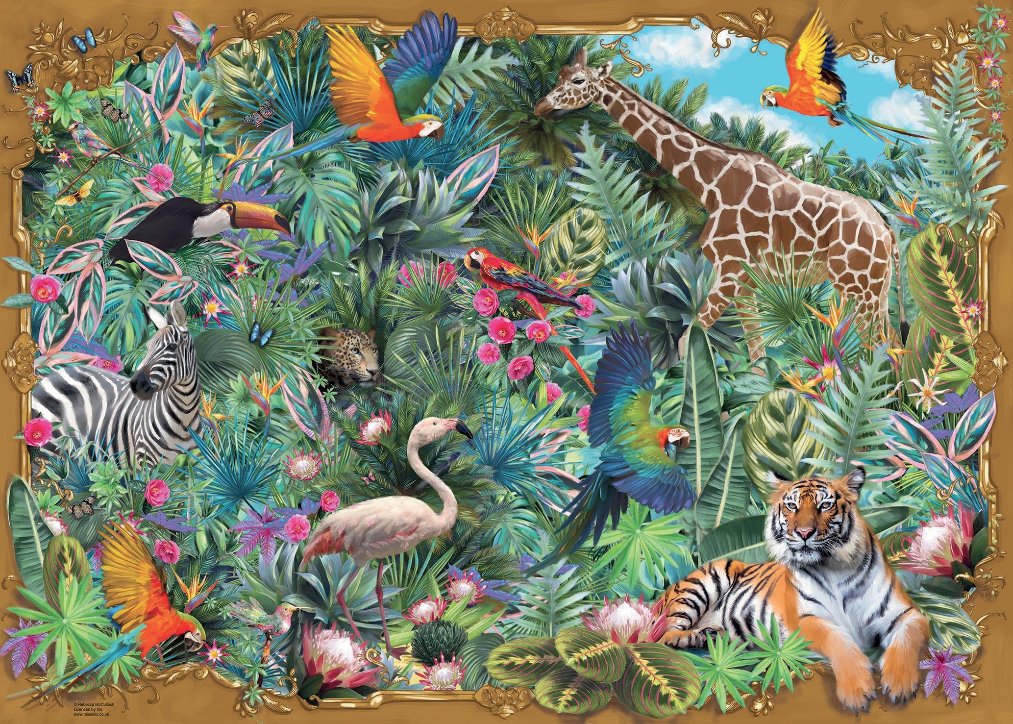 Exotic Escape Animals Jigsaw Puzzle