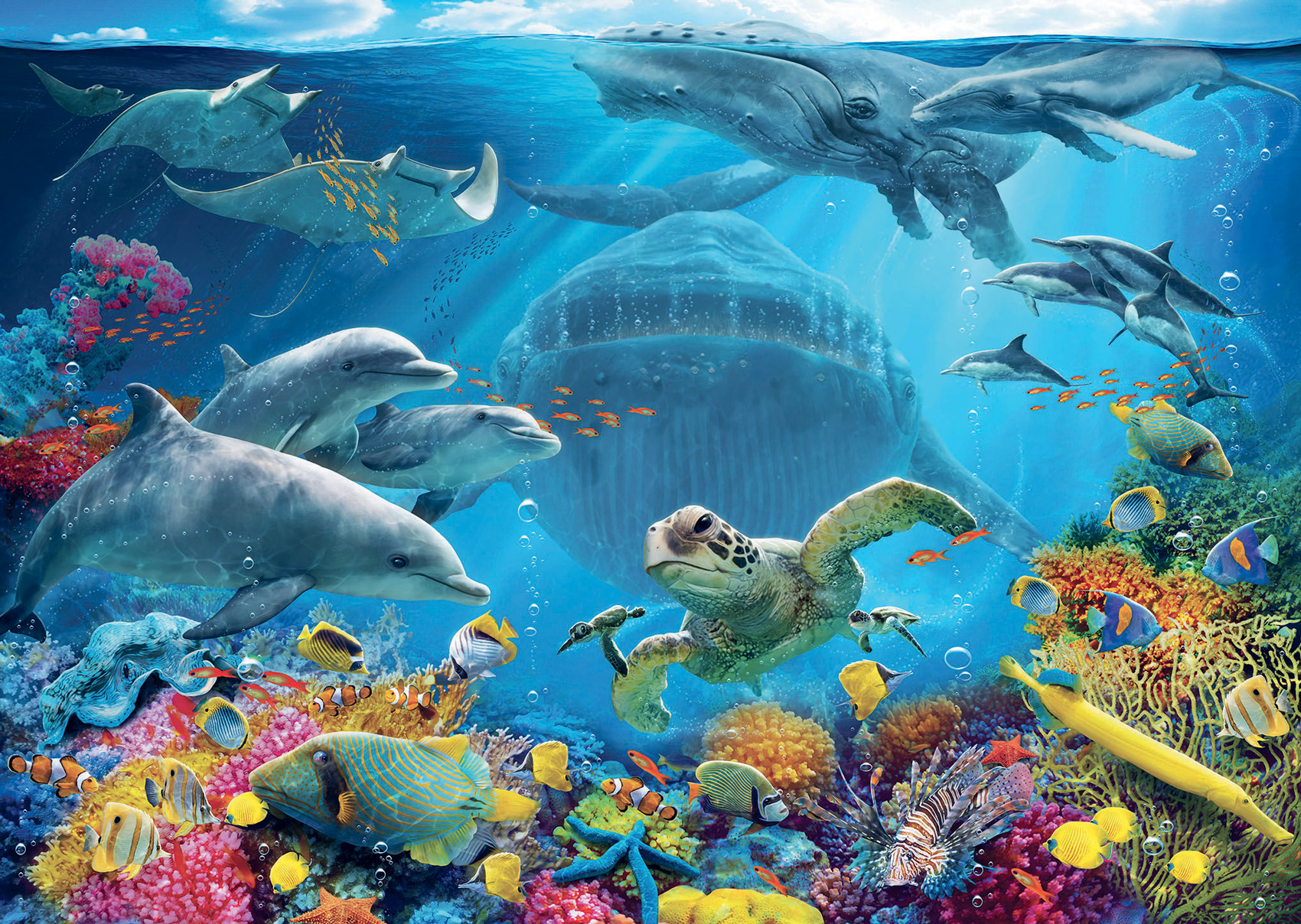 Life Underwater Under The Sea Jigsaw Puzzle
