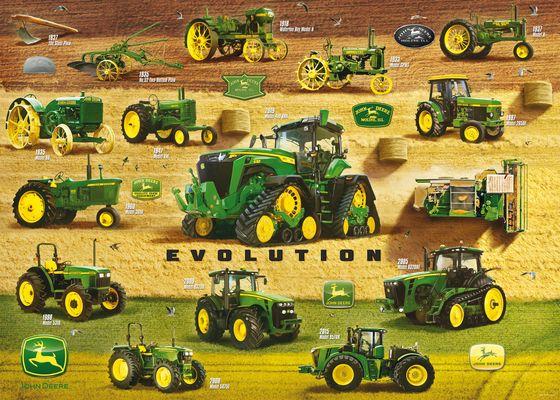 John Deere Legacy Farm Jigsaw Puzzle