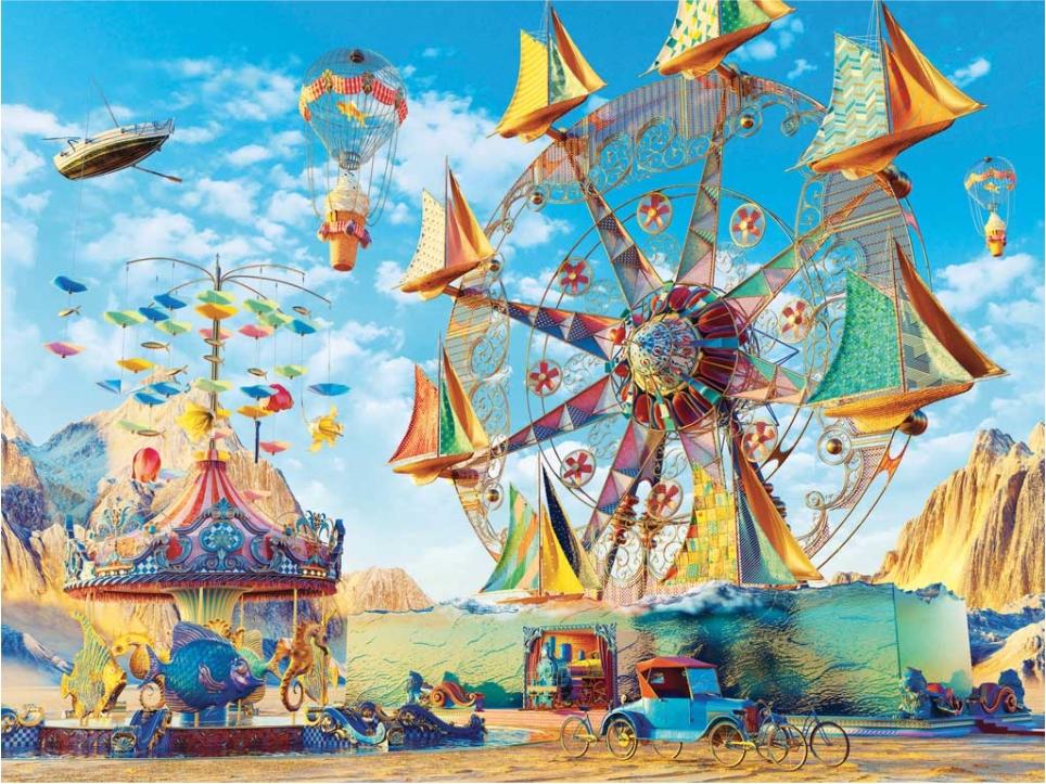 Carnival of Dreams Fantasy Jigsaw Puzzle