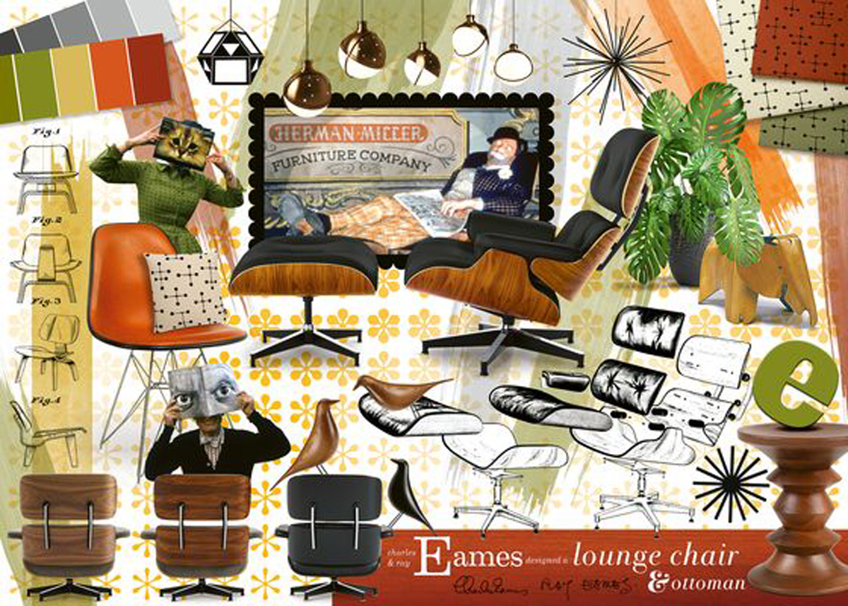 Eames Classic Designs Jigsaw Puzzle