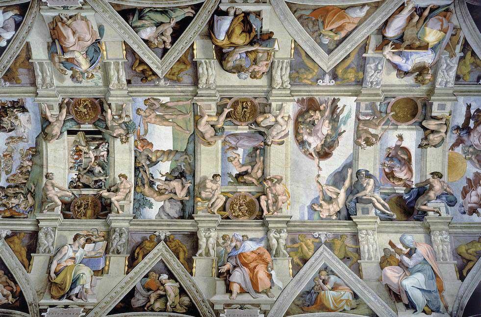 Sistine Chapel Fine Art Jigsaw Puzzle