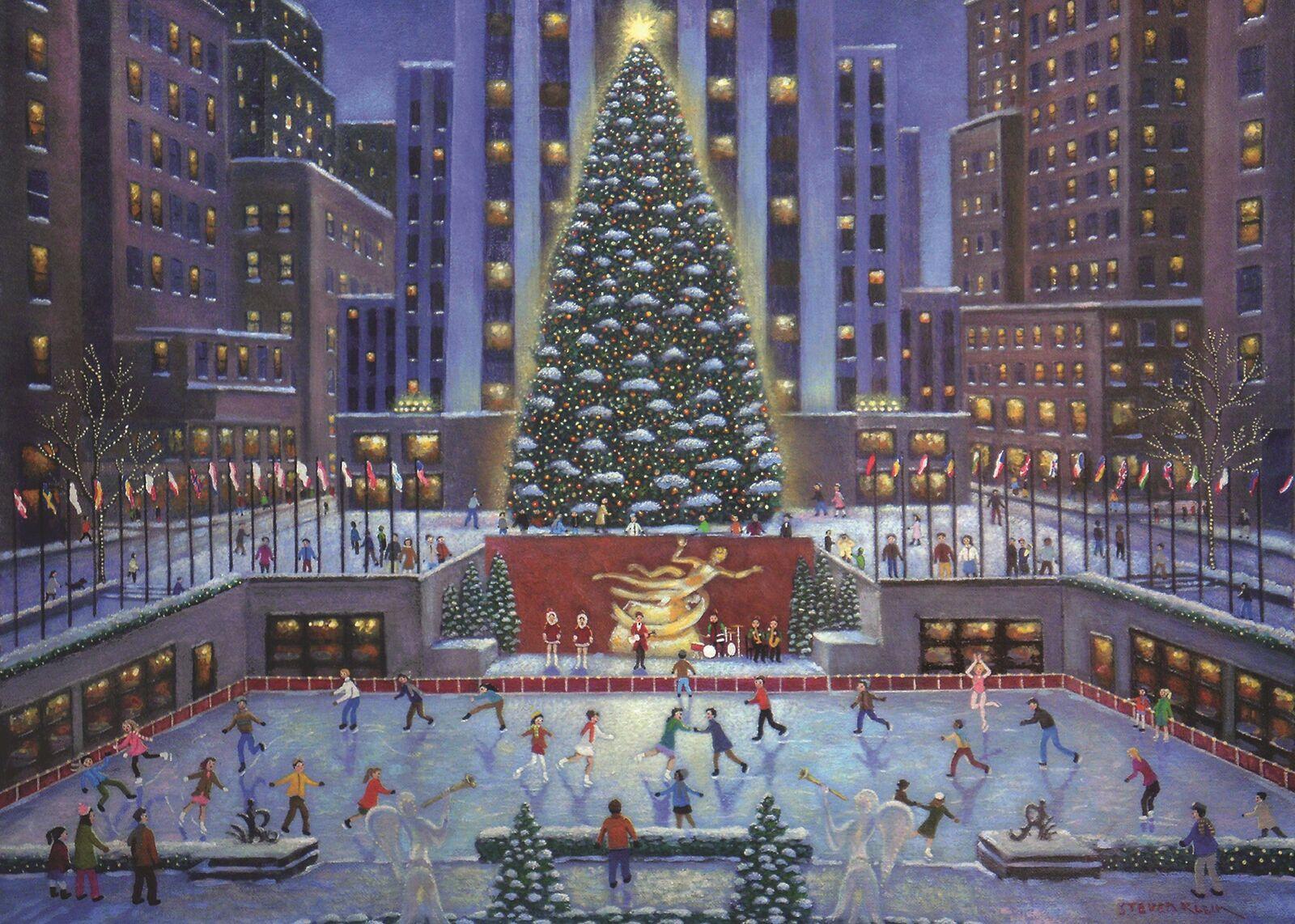 NYC Christmas Landmarks / Monuments Jigsaw Puzzle