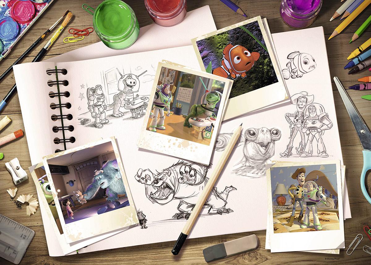 Disney - Pixar - Scratch and Dent Disney Jigsaw Puzzle