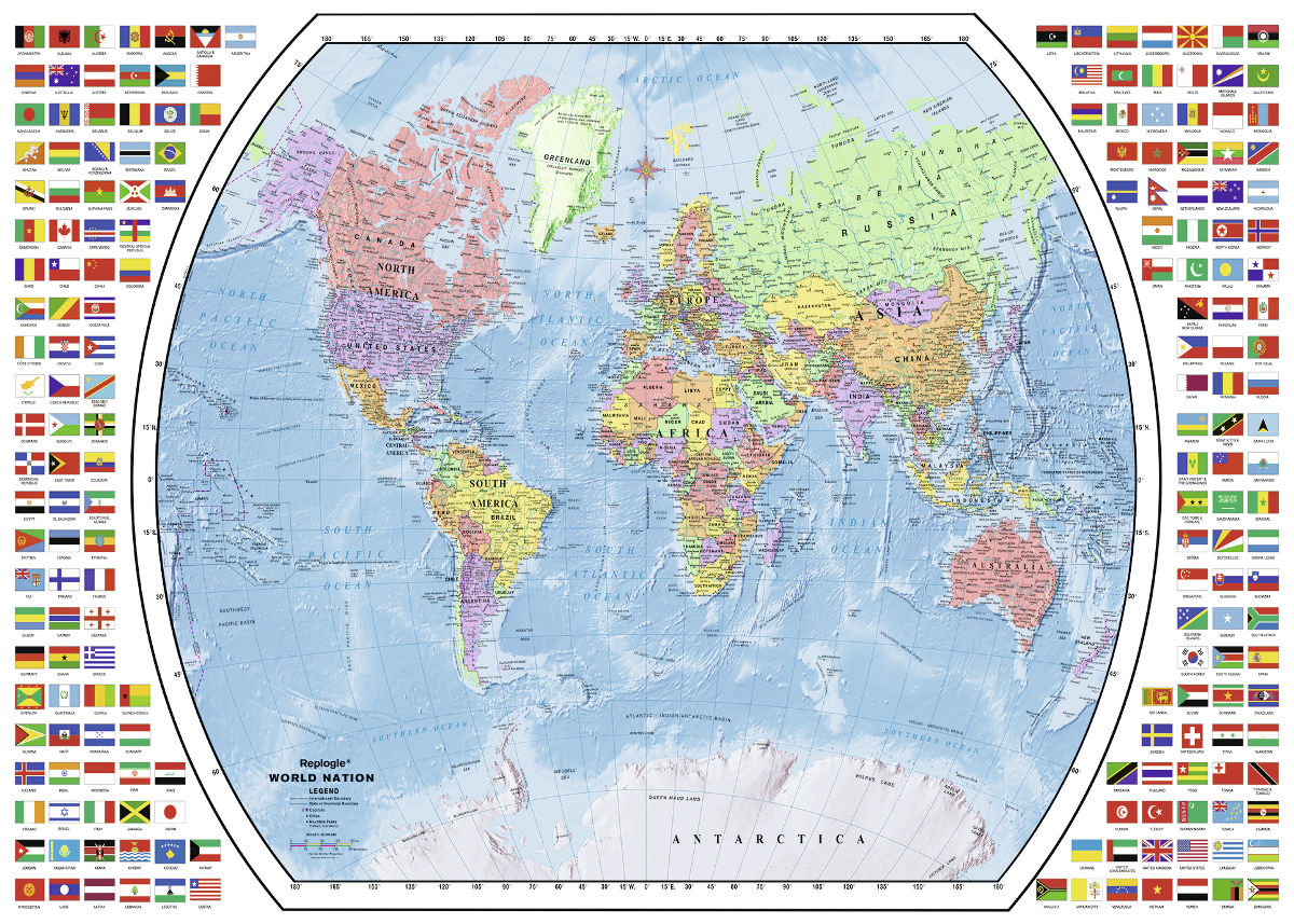 Political world map jigsaw puzzle puzzlewarehouse political world map maps geography jigsaw puzzle gumiabroncs Images