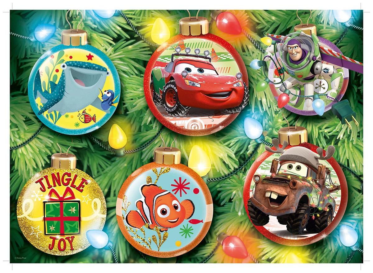 Disney Pixar Christmas Jigsaw Puzzle Puzzlewarehouse Com