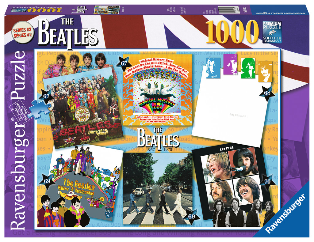 Albums 1967-70 Music Jigsaw Puzzle