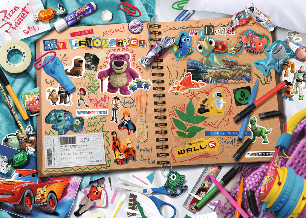 Scrapbook Disney Jigsaw Puzzle