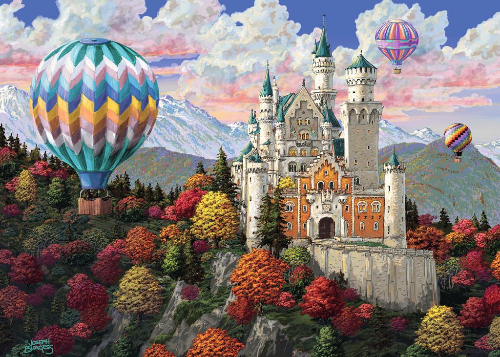 Neuschwanstein Daydream Castles Jigsaw Puzzle