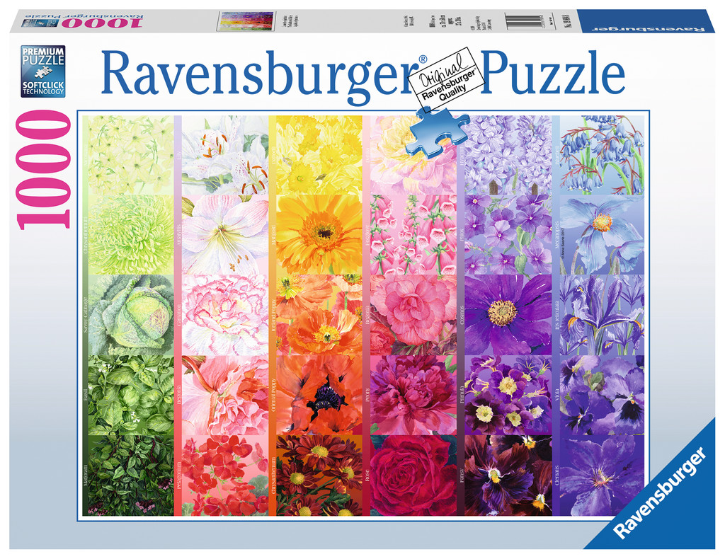 The Gardener's Palette No. 1 Flowers Jigsaw Puzzle