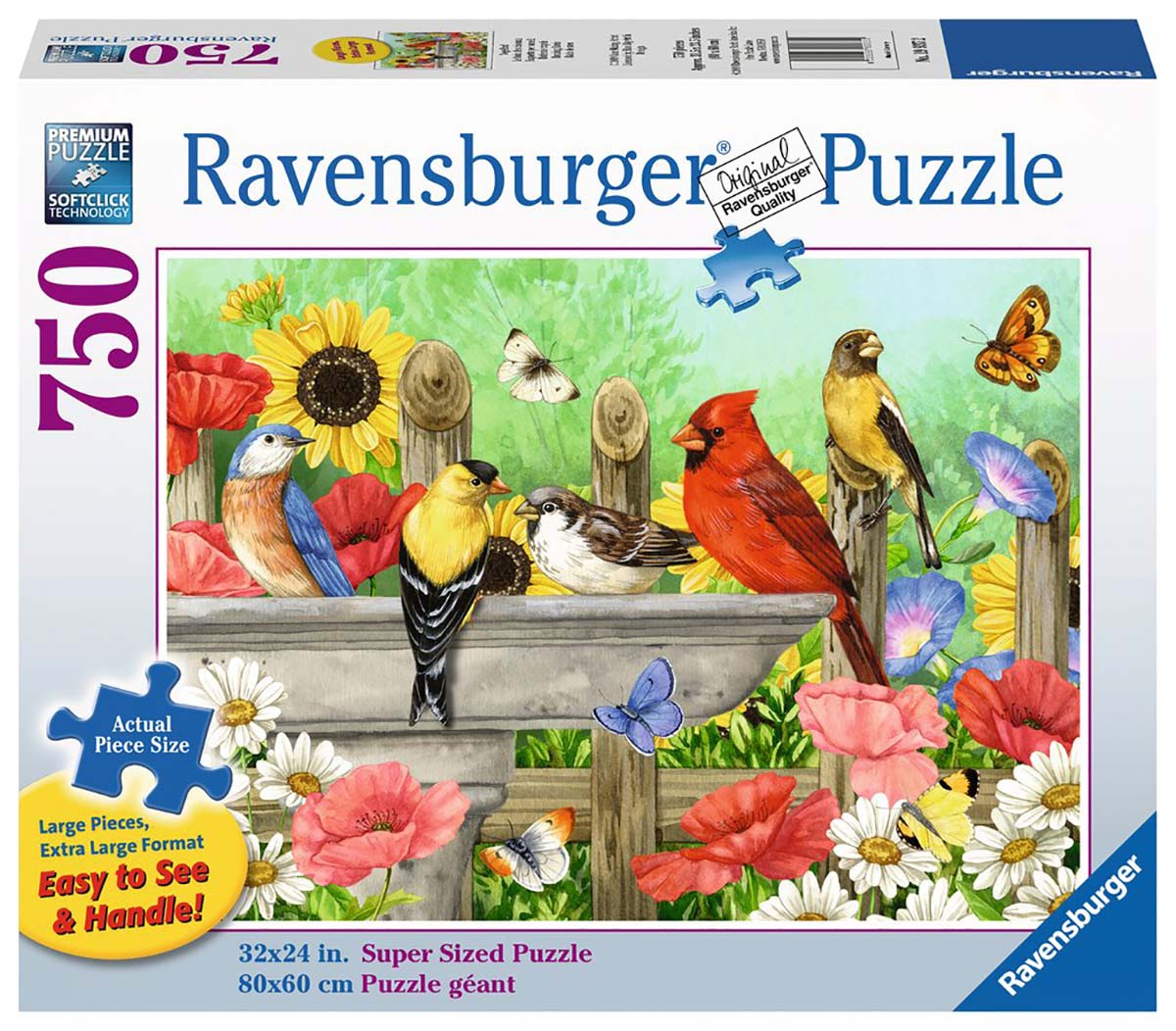 Bathing Birds Birds Jigsaw Puzzle