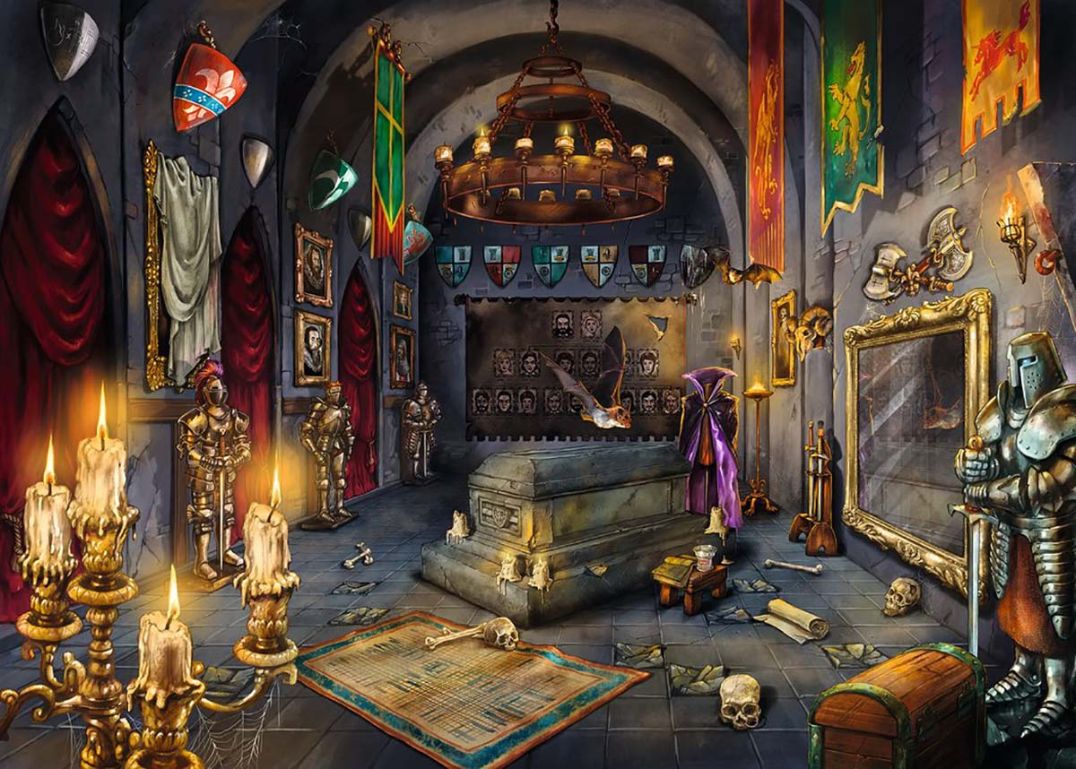 Vampire's Castle Castles Jigsaw Puzzle