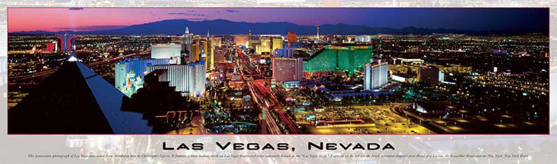 Las Vegas, Nevada Cities Jigsaw Puzzle