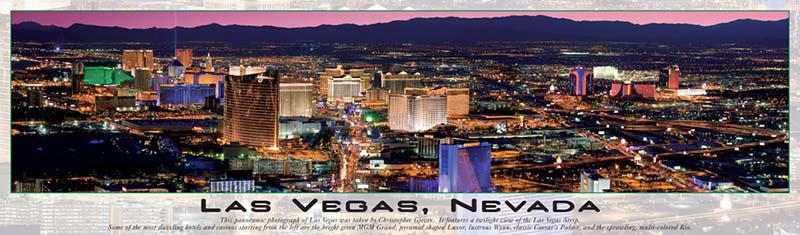 Las Vegas, Nevada - Glows in the Dark! Las Vegas Glow in the Dark
