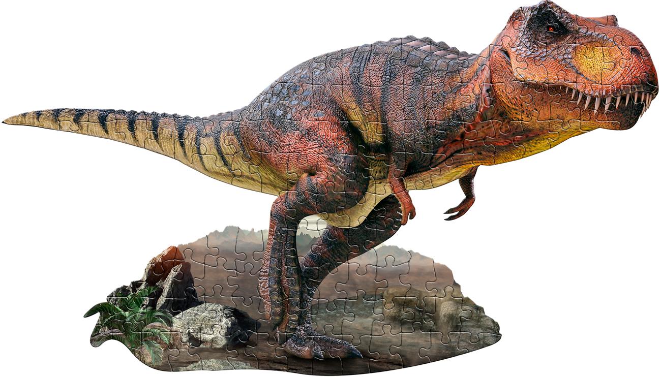 I Am T. Rex Animals Shaped Puzzle