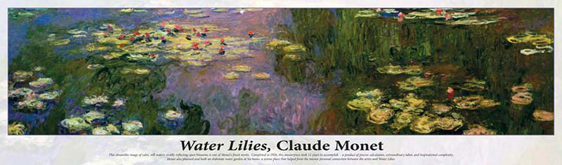 Water Lilies Impressionism Jigsaw Puzzle