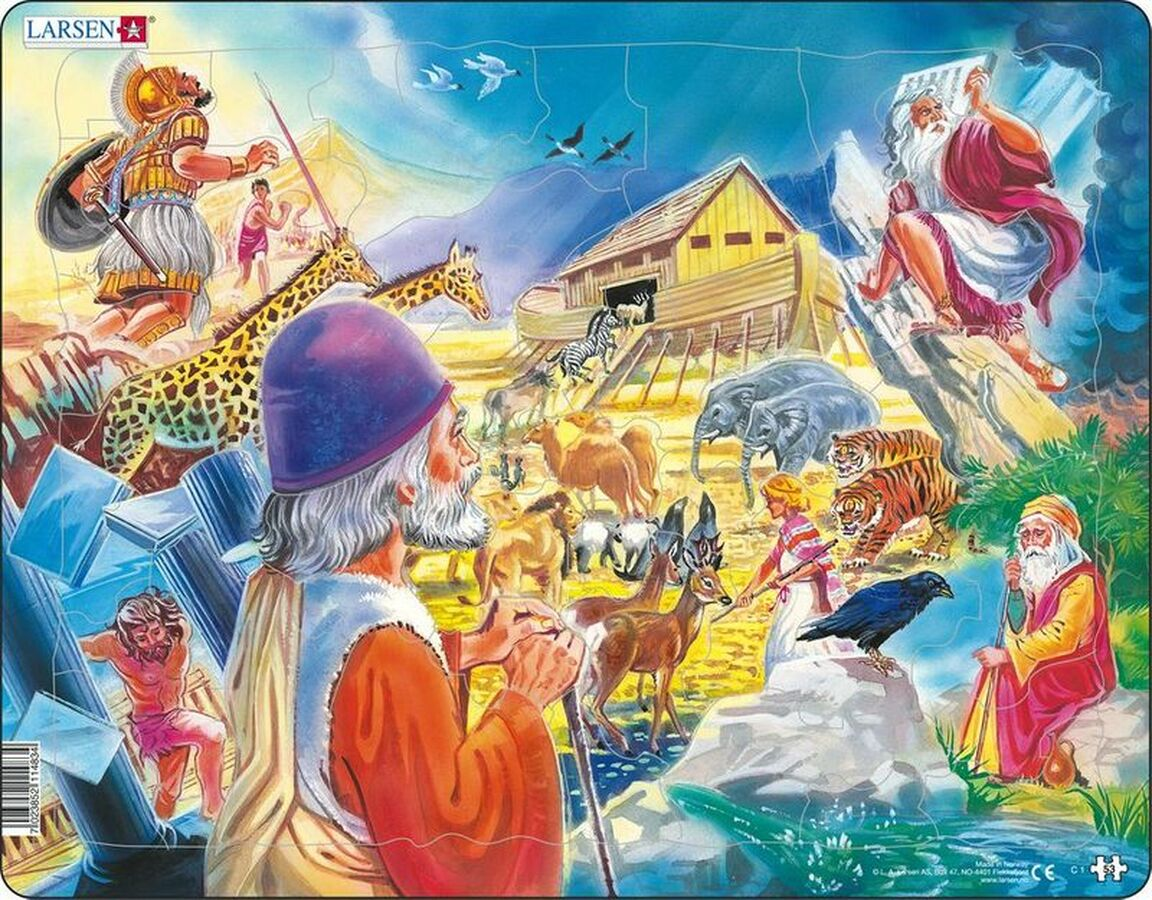 Old Testament Religious Children's Puzzles