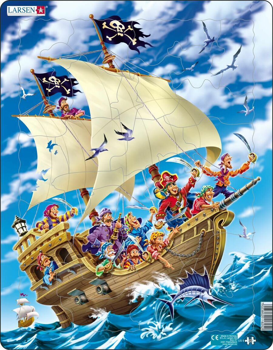 Pirates Pirates Tray Puzzle