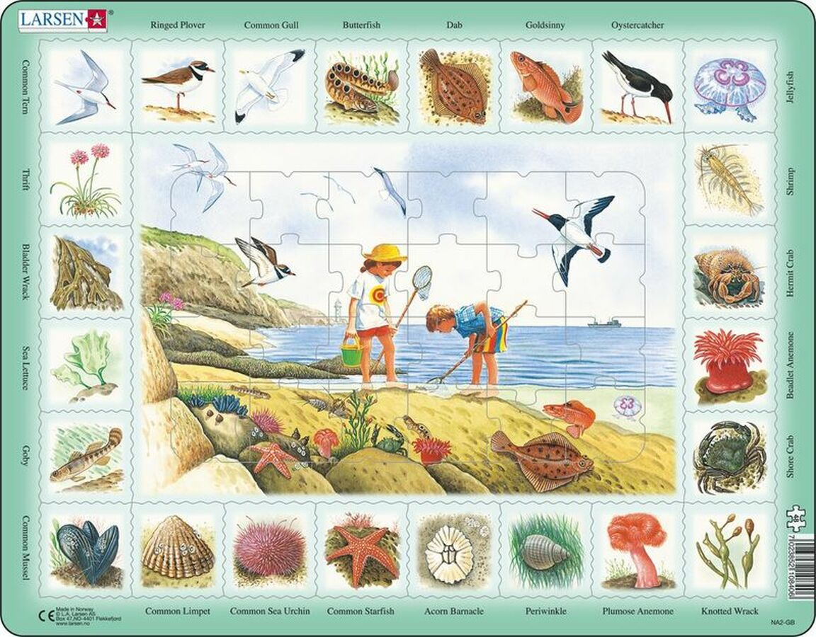Seaside Puzzle Beach Tray Puzzle