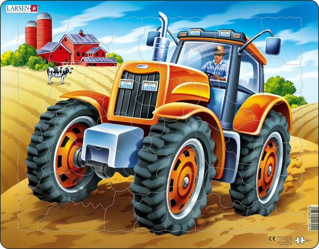 Tractor Puzzle Farm Children's Puzzles