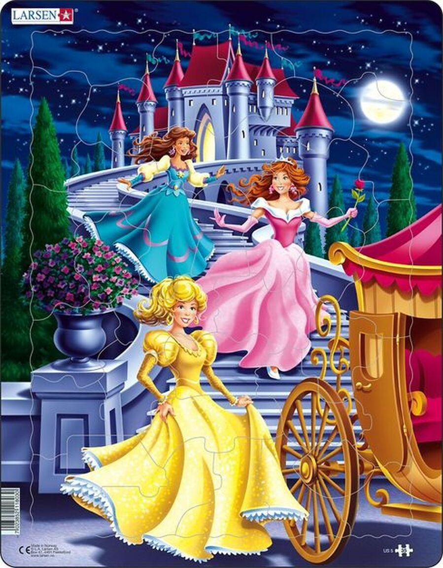 Princess Puzzle Princess Children's Puzzles