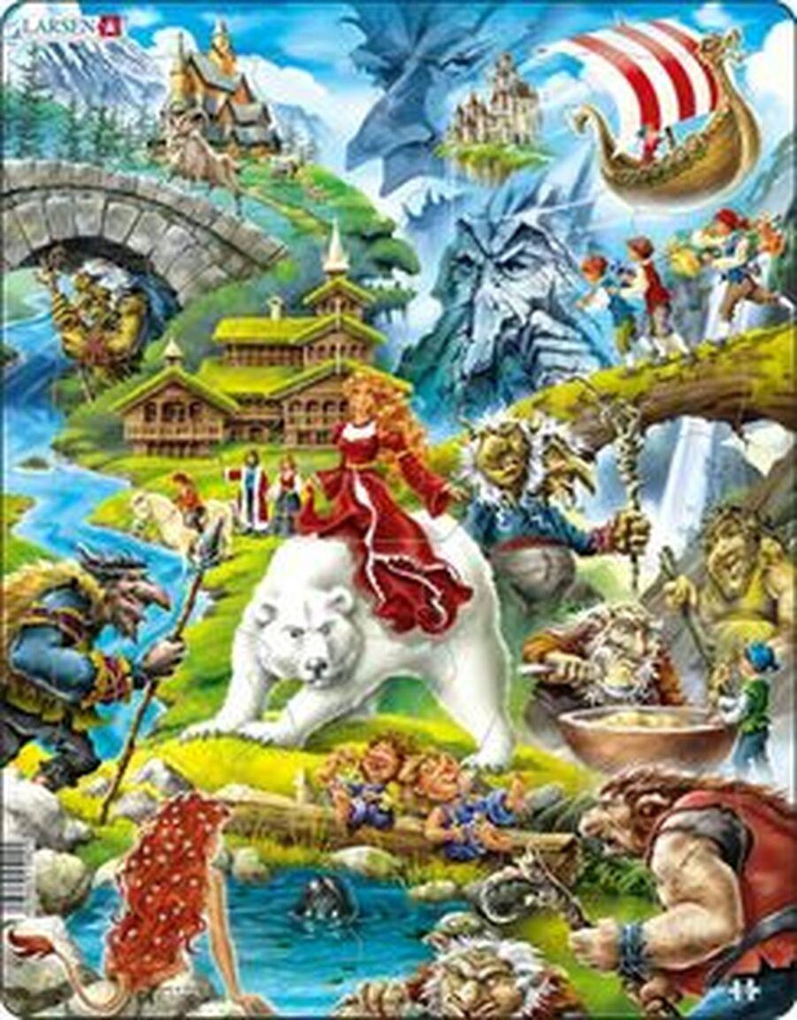 Fairytales Fantasy Children's Puzzles