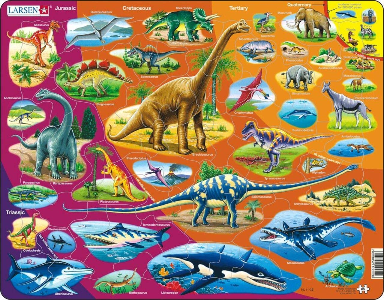 Nature History Dinosaurs Children's Puzzles