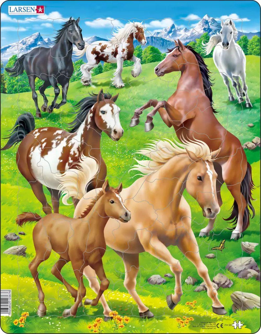 Horses Horses Children's Puzzles
