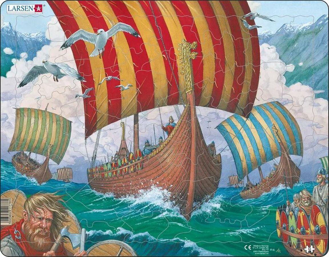 Viking Ship Boats Children's Puzzles