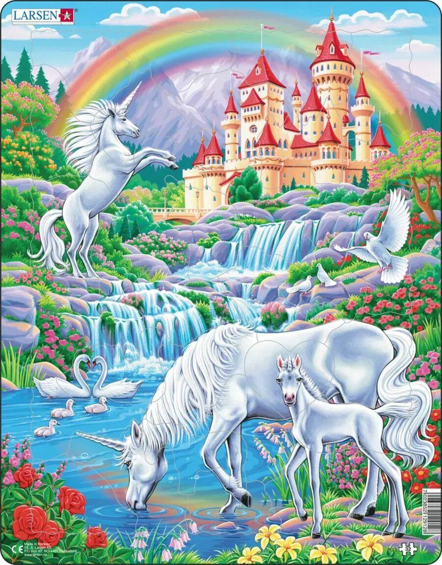 Unicorn Castles Children's Puzzles