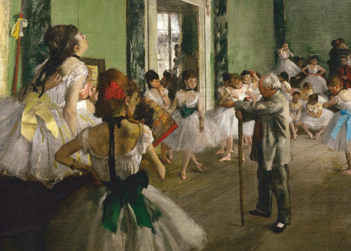 The Dancing Class Fine Art Jigsaw Puzzle