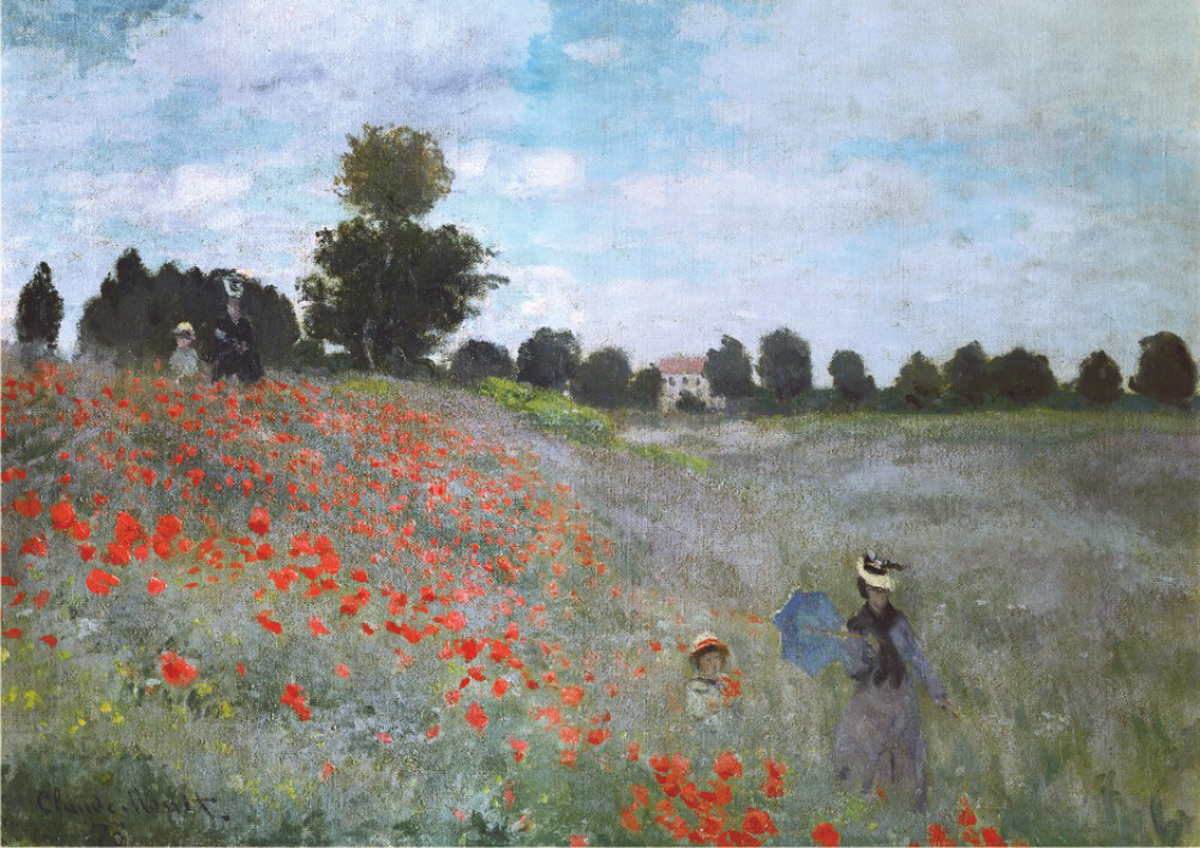Poppies - Scratch and Dent Fine Art Jigsaw Puzzle