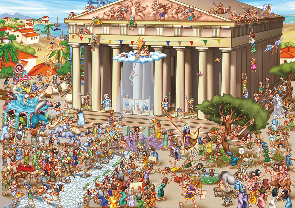 Parthenon Greece Jigsaw Puzzle