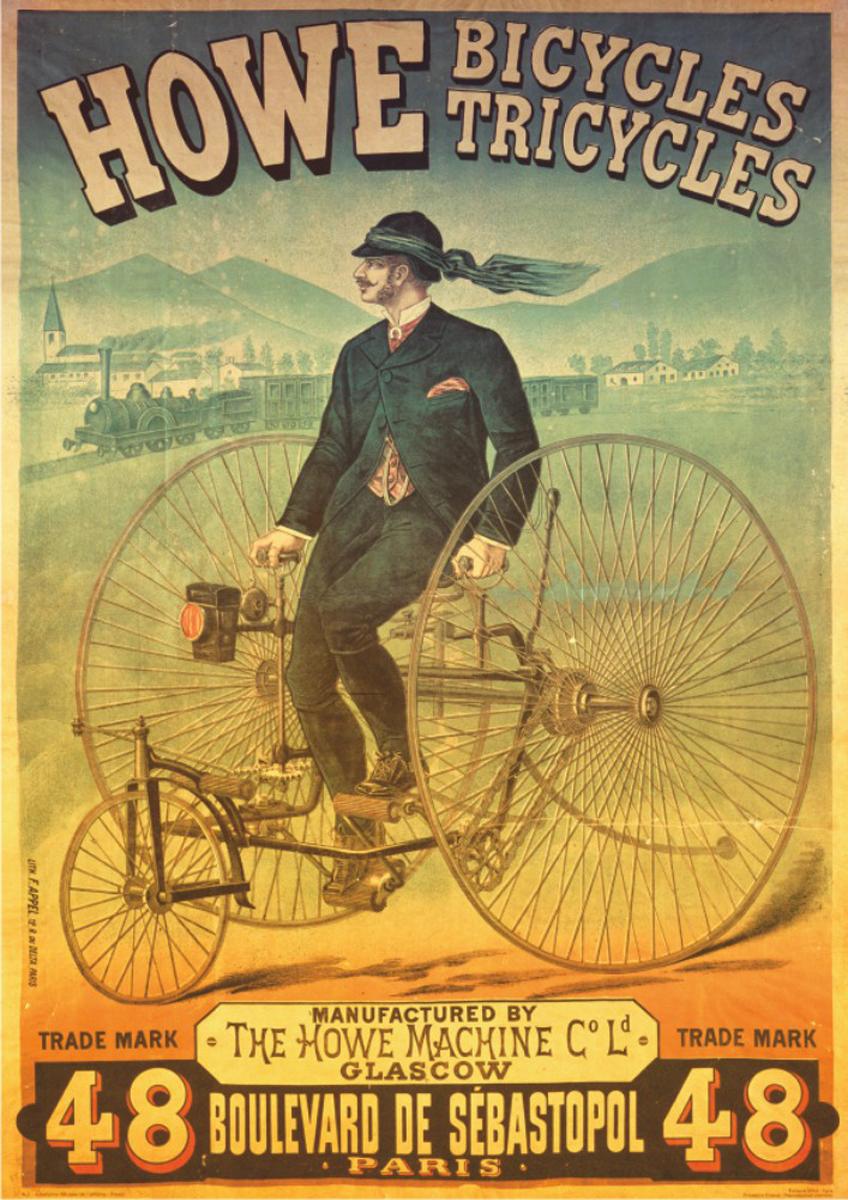 Howe Bicycles Tricycles Nostalgic / Retro Jigsaw Puzzle